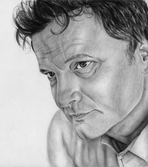 Colin Firth by Hillcza